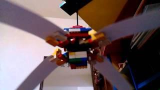 getlinkyoutube.com-Lego cardboard ceiling fan