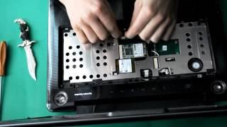 getlinkyoutube.com-Toshiba satellite A300 разборка / disassembly