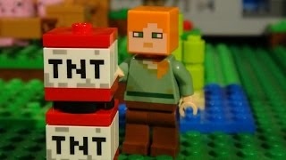 getlinkyoutube.com-LEGO MINECRAFT - MEGA COMPILATION