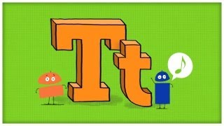 """ABC Song: The Letter T, """"Time For T"""" by StoryBots"""