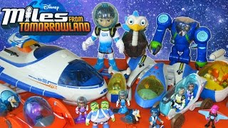getlinkyoutube.com-GIANT COLLECTION OF MILES FROM TOMORROWLAND TOYS DISNEY JUNIOR EXOFLEX STARJETTER