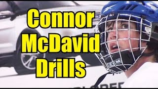 getlinkyoutube.com-Connor McDavid at 13! - On Ice Drills