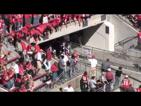 Ohio State University Marching Band -  Push and Ramp Entrance