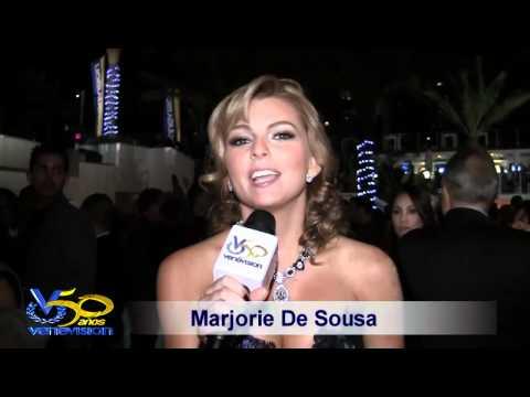 Marjorie De Sousa - Anécdotas