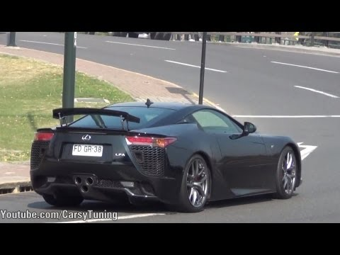 Supercars in Santiago Chile Vol 12 - Aventador LFA 458 Carrera GT and more!