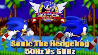 getlinkyoutube.com-Sonic 1 - 50Hz vs 60Hz (PAL vs NTSC) - An informative comparison