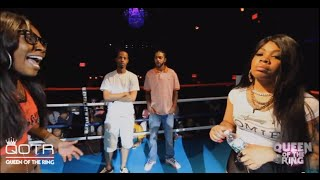 getlinkyoutube.com-PHARA FUNERAL vs QB BLACK DIAMOND QUEEN OF THE RING (Hosted by BABS BUNNY) #NHB