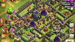Best TH9 Champ Trophy Base (Including Replays)