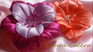 getlinkyoutube.com-Ribbon flower
