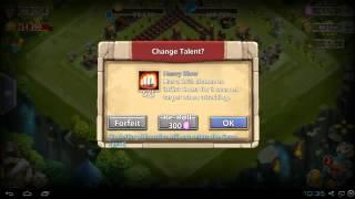 getlinkyoutube.com-Castle Clash - Treasure Chest Rolls & 30,000 Gem Talent Rolls