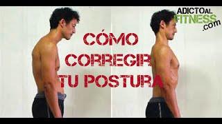 getlinkyoutube.com-Cómo corregir la postura de la espalda - Ejercicios para espalda encorvada y sus razones