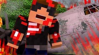 getlinkyoutube.com-Minecraft Stranded - Plane Crash! ( Minecraft Roleplay #1 )