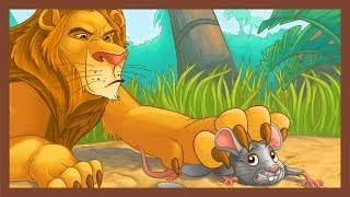 getlinkyoutube.com-The Lion and the Mouse - ABCmouse.com Aesop's Fables Series