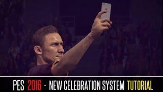 getlinkyoutube.com-PES 2016 - New Celebration System Tutorial
