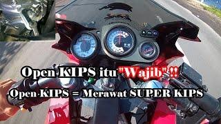 getlinkyoutube.com-Ninja RR OPEN KIPS - Speeding dapat mencegah macet KIPS Ninja 2-tak| lewat jalur rawan begal