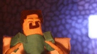 """getlinkyoutube.com-""""A Day in a Life"""" - A Minecraft Stop Motion Animation"""