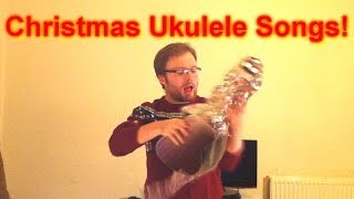 getlinkyoutube.com-How To Play Three Easy Christmas Songs on The Ukulele!