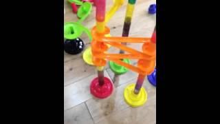 getlinkyoutube.com-Toys r us marble run - tested by rob