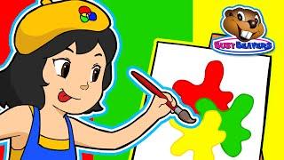 "getlinkyoutube.com-Princess Colors ""Red Green Yellow"" | Kids Dance Pop Song Teach Colours, Children Preschool English"