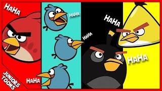 getlinkyoutube.com-ANGRY BIRDS Funny Animated Parody Cartoon | Juniors Toons | #AngryBirdsMovie