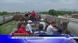 Esperan repunte en México de migrantes centroamericanos