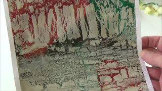 getlinkyoutube.com-Acrylmalerei   Techniken   Krakelieren mit Holzleim