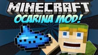 getlinkyoutube.com-Minecraft | OCARINA MOD! | Play the Ocarina of Time from Zelda! [1.4.7]