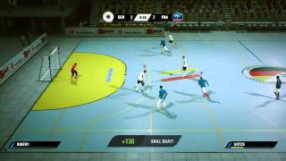 getlinkyoutube.com-FIFA Street - Barcelona vs. Real Madrid - Panna