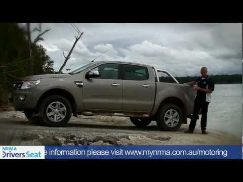 2012 Ford Ranger XLT Double Cab - Quick Spin - NRMA Drivers Seat