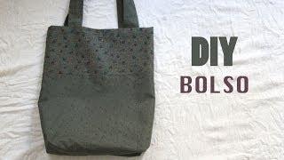 getlinkyoutube.com-DIY Costura fácil: cómo hacer bolso dos colores
