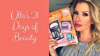 Ulta 21 Days of Beauty 2017: Recommendations + Tips for Getting the Things You Really Want!