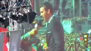 Matt Lewis at the Harry Potter wolrd Premiere