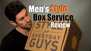 getlinkyoutube.com-Men's Curated Box Service Review | Men's Style Lab Unboxing
