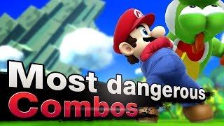 getlinkyoutube.com-Smash 4 Wii U - Top 3 Most Dangerous Mario Combos