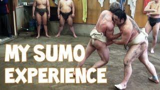 getlinkyoutube.com-My Sumo Experience in Tokyo, Japan   Furious Pete
