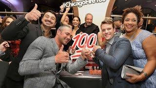 getlinkyoutube.com-Cast of Chicago Fire and many other stars celebrate 100th episode with epic red carpet in Chicago