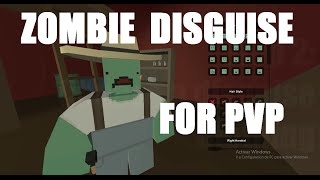 Unturned PvP - Zombie Disguise for PVP