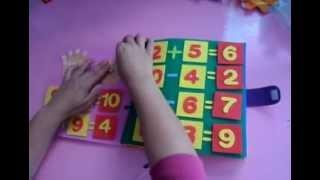 getlinkyoutube.com-Livro sensorial para crianças de 6 anos..