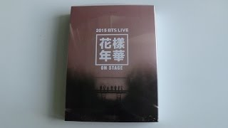 getlinkyoutube.com-Unboxing BTS (Bangtan Boys) 방탄소년단 2015 LIVE 화양연화 ON STAGE Concert DVD