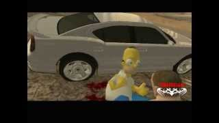 getlinkyoutube.com-GTA Cj VS Homero Simpson y la Muerte del Tio Gilipollas