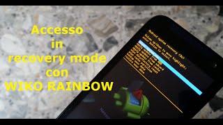getlinkyoutube.com-[Guida] Accedere in Recovery Mode con Wiko Rainbow