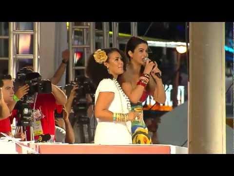 Gilmelândia e Saulo Fernandes  - Carnaval de Salvador - O arrastão