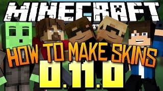getlinkyoutube.com-Minecraft PE: How To Make Skins!