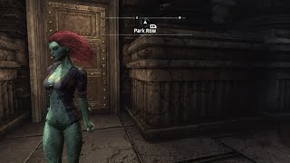 getlinkyoutube.com-Batman: Arkham City: Playable Poison Ivy Mod