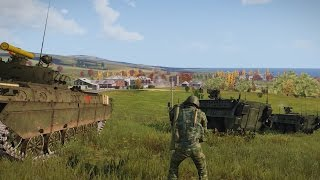 ArmA 3 - Russian and US Military vs Zombies