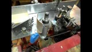 getlinkyoutube.com-Самодельный фрезерно-рейсмусовый станок по дереву. Homemade milling machine for wood.