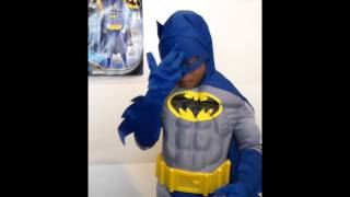 "getlinkyoutube.com-Batman ""The Brave and the Bold"" Costume Review"