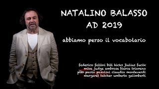 Discorso di capodanno 2019 Natalino Balasso