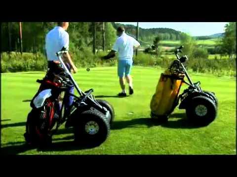 Segway som golfbil -Johan Sjögren