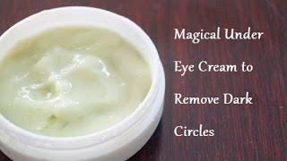 getlinkyoutube.com-How to Make Under Eye Cream to Remove Dark Circles in 3 Days